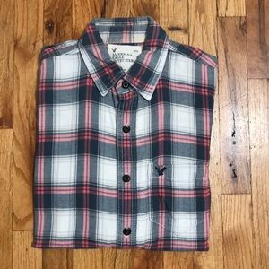 Retro Plaid Button down